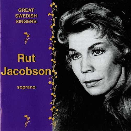 Play & Download Great Swedish Singers: Ruth Jacobson (1959-1976) by Ruth Jacobson | Napster