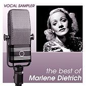 Play & Download Vocal Sampler: The Best Of Marlene Dietrich - [Digital 45] by Marlene Dietrich | Napster