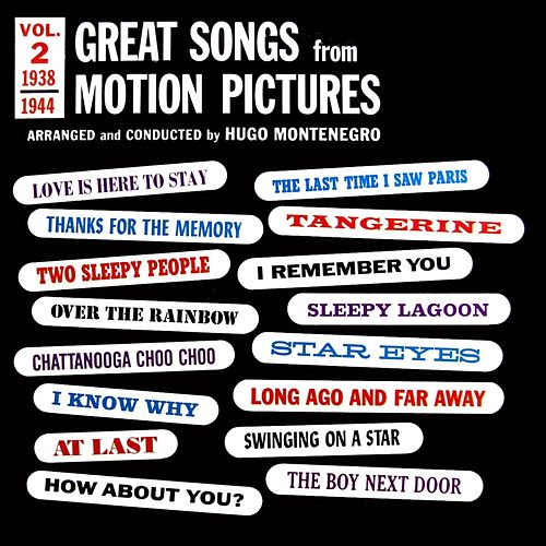 Play & Download Great Songs From Motion Pictures by Hugo Montenegro | Napster