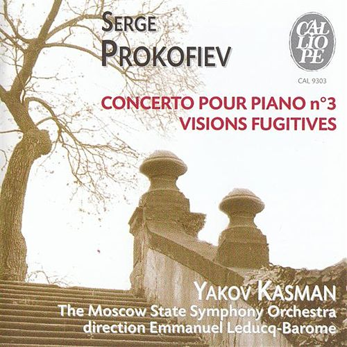 Play & Download Serge Prokofiev: Concerto pour piano no. 3 / Visions Fugitives by Yakov Kasman | Napster
