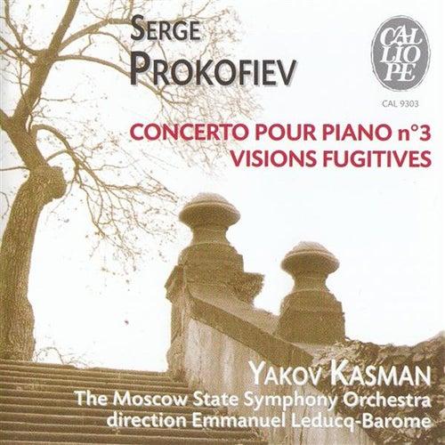 Serge Prokofiev: Concerto pour piano no. 3 / Visions Fugitives by Yakov Kasman