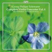 Telemann: Complete Violin Concertos, Vol. 4 by Elizabeth Wallfisch