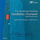 Play & Download Mendelssohn: Geistliches Chorwerk by Various Artists | Napster