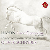 Haydn: Three Piano Concertos by Oliver Schnyder