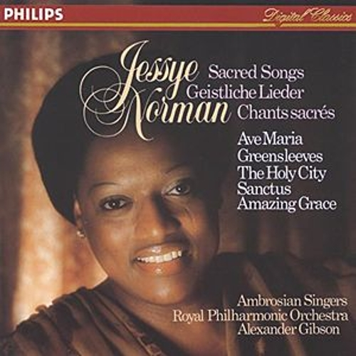 Sacred Songs by Jessye Norman