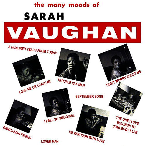 The Many Moods Of Sarah Vaughan by Sarah Vaughan