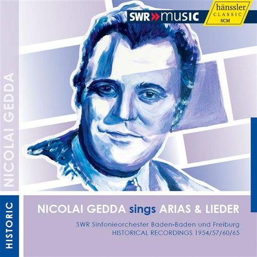 Play & Download Nicolai Gedda sings Arias & Lieder by Nicolai Gedda | Napster
