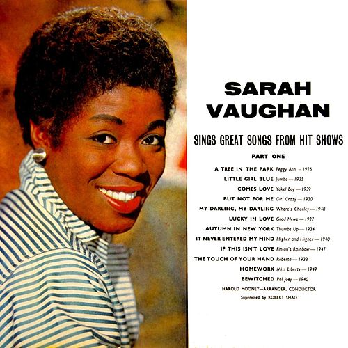 Play & Download Sarah Vaughan Sings Great Songs From Hit Shows by Sarah Vaughan | Napster