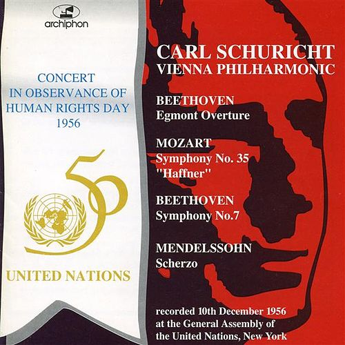 Play & Download Human Rights Day Concert (1956) by Vienna Philharmonic Orchestra | Napster
