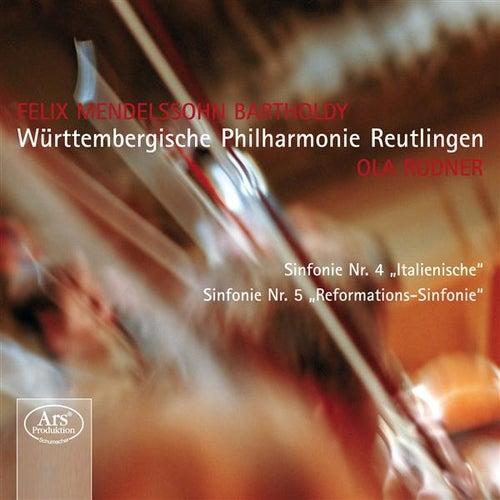Play & Download Mendelssohn: Symphonies n°4 et n°5 by Wurttembergische Philharmonie Reutlingen | Napster