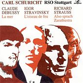 Debussy: La mer - Stravinksy: The Firebird Suite - Strauss: Also sprach Zarathustra (1952-1957) by Stuttgart Radio Symphony Orchestra