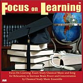 Play & Download Focus On Learning: Exam Study Classical Music and Songs for Relaxation, to Increase Brain Power and Concentration by Classical Study Music Ensemble | Napster