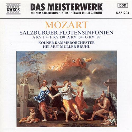 Play & Download Mozart: Salzburg Flute Symphonies (Symphonies Nos. 14, 18, 21, and 27) by Cologne Chamber Orchestra | Napster