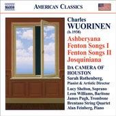Wuorinen: Ashberyana / Fenton Songs I and Ii / Josquiniana by Various Artists