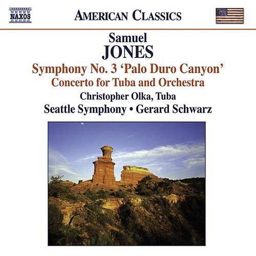 Play & Download Jones, S.: Symphony No. 3, 'Palo Duro Canyon' / Tuba Concerto by Various Artists | Napster