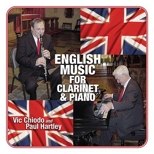 English Music for Clarinet & Piano by Vic Chiodo