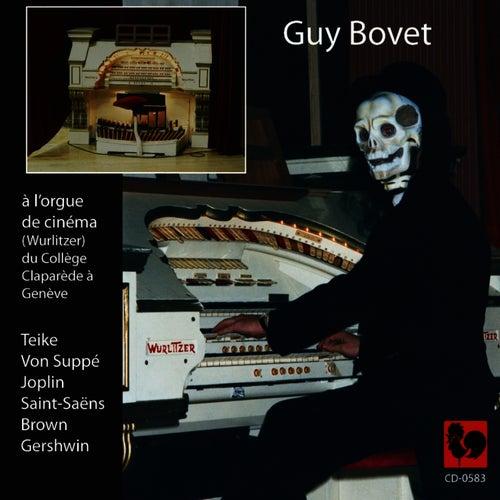 Guy Bovet à l'orgue de cinéma (Wurlitzer) du collège Claparède à Genève by Guy Bovet