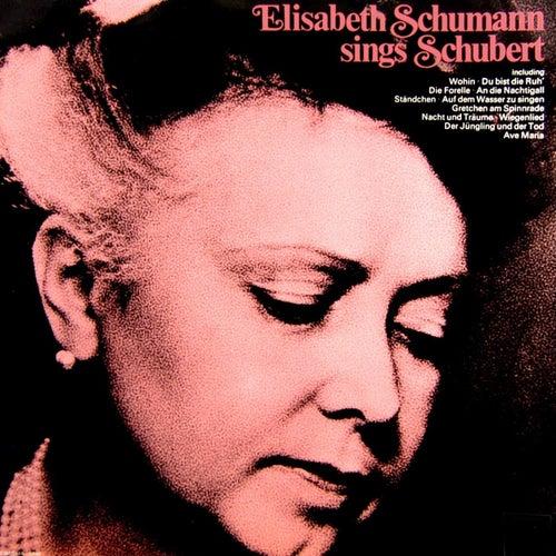 Sings Schubert von Elisabeth Schumann