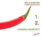 Bartók: Streichquartette 1 & 2 by Carmina Quartett