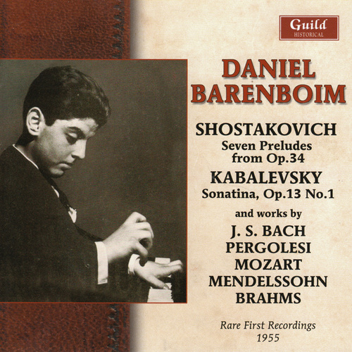 Daniel Barenboim - Rare first recordings 1955 by Daniel Barenboim