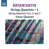 Hindemith: String Quartets, Vol. 1 by Amar Quartet