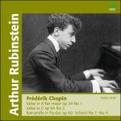 Play & Download Chopin: Valses, Scherzi & Barcarolle by Arthur Rubinstein | Napster