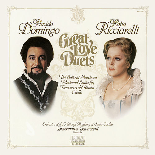 Plácido Domingo: Great Love Duets by Various Artists