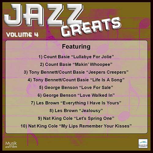 Jazz Greats, Vol. 4 by Various Artists