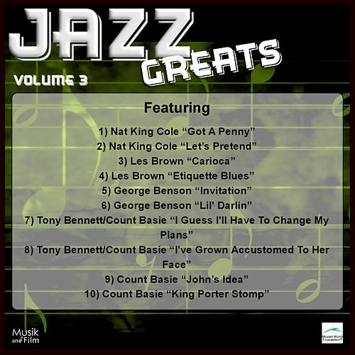 Play & Download Jazz Greats, Vol. 3 by Various Artists | Napster