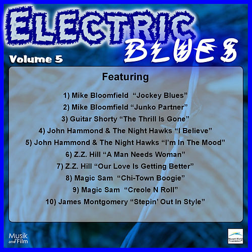 Play & Download Electric Blues, Vol. 5 by Various Artists | Napster