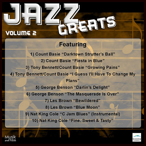 Play & Download Jazz Greats, Vol. 2 by Various Artists | Napster