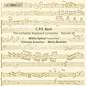 Play & Download C.P.E. Bach: The Complete Keyboard Concertos, Vol. 18 by Miklos Spanyi | Napster