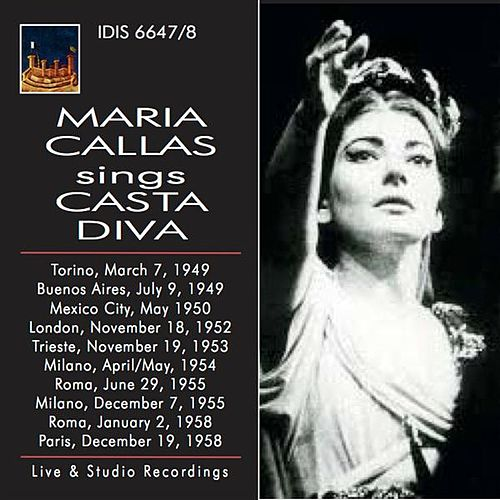 Play & Download Maria Callas Sings Casta Diva by Maria Callas | Napster