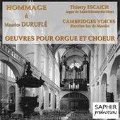 Duruflé: Oeuvres pour orgue, orgue et choeur by Thierry Escaich