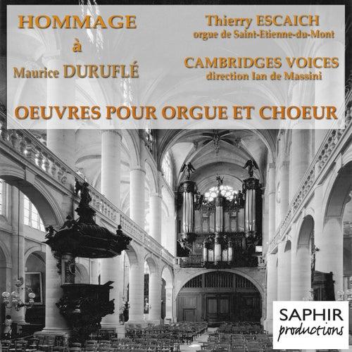 Play & Download Duruflé: Oeuvres pour orgue, orgue et choeur by Thierry Escaich | Napster