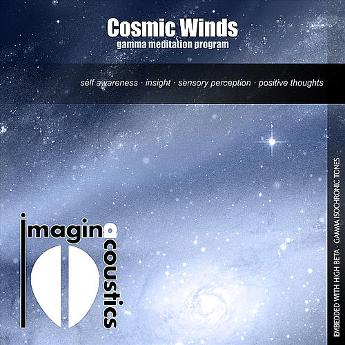 Play & Download Cosmic Winds: Gamma Meditation Program by Imaginacoustics | Napster
