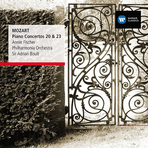 Play & Download Mozart: Piano Concertos Nos 20 & 23 by Sir Adrian Boult | Napster