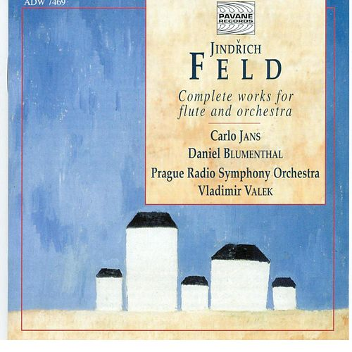 Feld: Complete Works for Flute and Orchestra by Carlo Jans