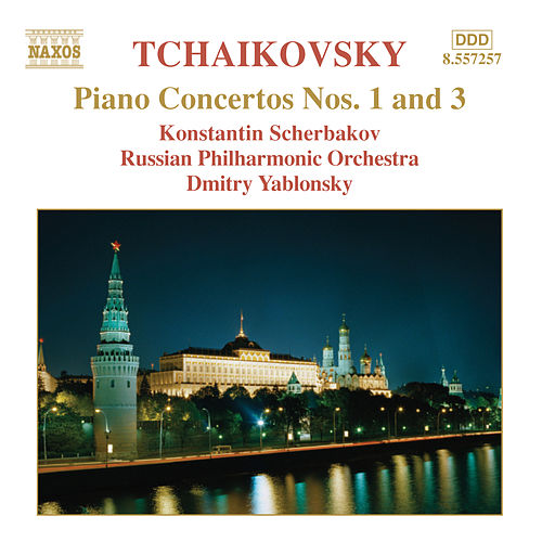 Play & Download Piano Concertos Nos. 1 and 3 by Pyotr Ilyich Tchaikovsky | Napster