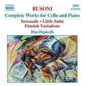 Complete Works for Cello and Piano by Ferrucio Busoni