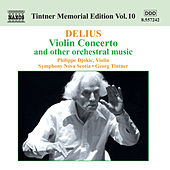 Violin Concerto and other Orchestral Music by Frederick Delius