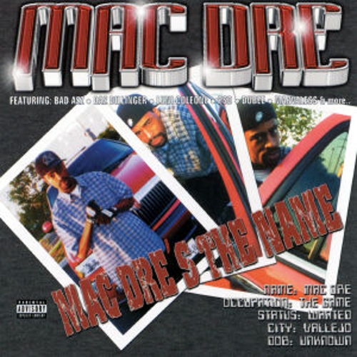 Mac Dre's The Name by Mac Dre