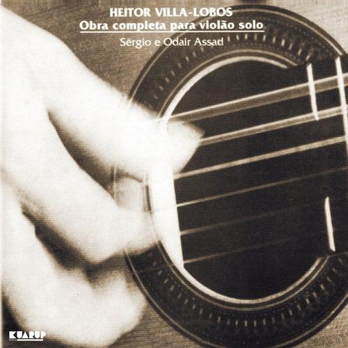 Heitor Villa-Lobos - Obra Completa para Violão solo by Sergio & Odair Assad