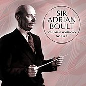 Play & Download Schuman Symphony No 1 & 2 by Sir Adrian Boult | Napster
