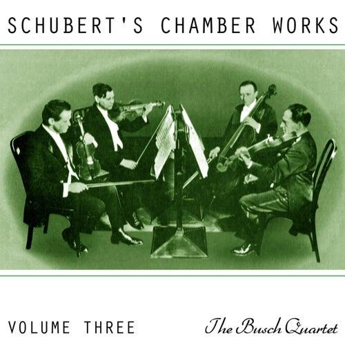 Play & Download Schubert's Chamber Works Volume 3 by Busch Quartet | Napster