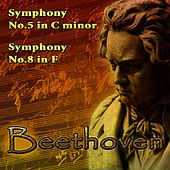 Play & Download Beethoven's Symphony No. 5 in C-Minor & Symphony No. 8 in F by Berlin Philharmonic Orchestra | Napster