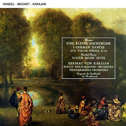Play & Download Herbert Von Karajan Conducting Music By Mozart & Handel by Various Artists | Napster