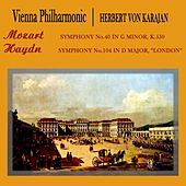 Play & Download Mozart Symphony No. 40 by Vienna Philharmonic Orchestra   Napster