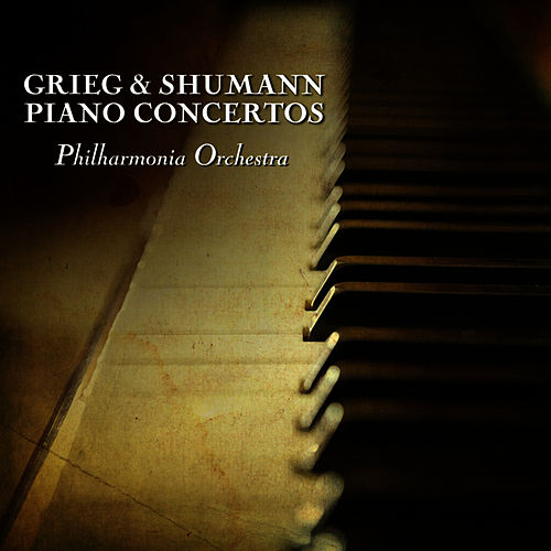 Play & Download Grieg & Shumann Piano Concertos by Philharmonia Orchestra | Napster