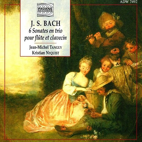 Bach: The 6 Trio Sonatas for Flute and Harpsichord by Jean-Michel Tanguy